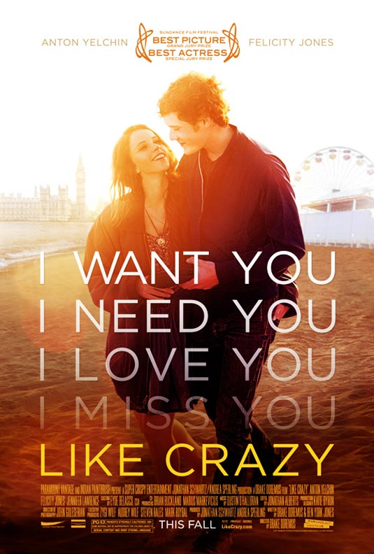 Like Crazy download ITA 2011 (TORRENT)