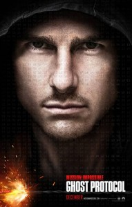 "New Poster For ""Mission: Impossible – Ghost Protocol"""