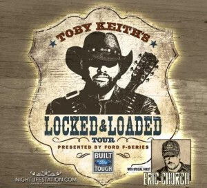 Concert Review: Toby Keith's Locked & Loaded Tour, Tampa FL