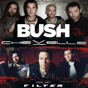 Concert Review: Bush & Chevelle with Filter, Orlando FL