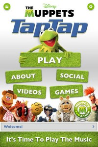 "It's Time to Play the Music as ""Tap Tap Muppets"" Launches on the App Store"