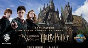 """""""Harry Potter"""" Press Event Coverage at Wizarding World of Harry Potter"""