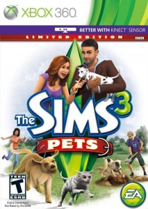 "XBOX 360 Game Review ""The Sims 3: Pets"""