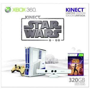 XBOX Console & Game Review: Star Wars R2-D2 Console & Kinect Star Wars