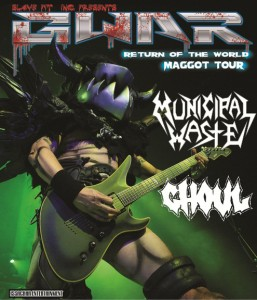 "Concert Review: GWAR ""Return of the World Maggot Tour"" Syracuse, NY"
