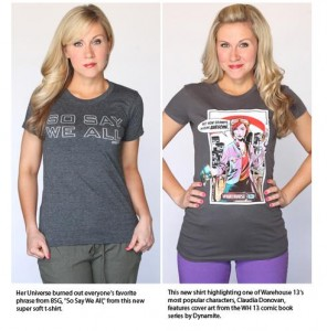 New Her Universe Syfy Apparel debuts July 11, 2012