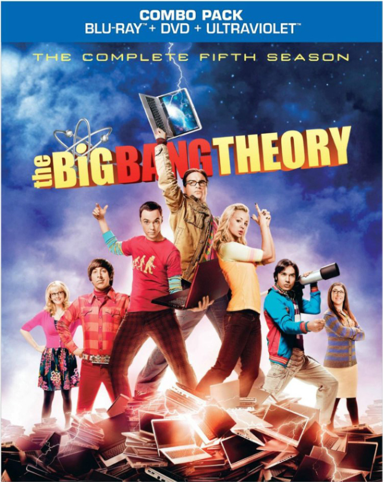 blu ray review the big bang theory the complete fifth. Black Bedroom Furniture Sets. Home Design Ideas