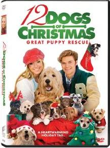"""DVD Review """"12 Dogs of Christmas: Great Puppy Rescue"""""""