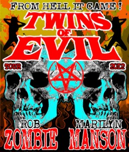 "Concert Review ""Twins of Evil Tour"" Rob Zombie, Marilyn Manson – Rochester, NY"