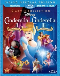 "Blu-ray Review ""Cinderella II: Dreams Come True / Cinderella III: A Twist in Time"""