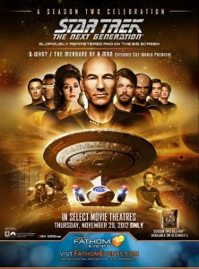 "Complimentary Passes to One Night Only Screening in Orlando and Kansas City of ""Star Trek: The Next Generation – A Celebration of Season 2"" [ENDED]"