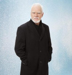 "Malcolm McDowell talks about role in ""Silent Night"""