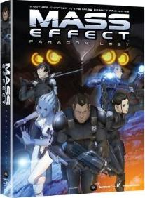 "DVD Review ""Mass Effect: Paragon Lost"""
