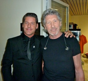 Me & Roger Waters- DVD Shoot Athens, Greece