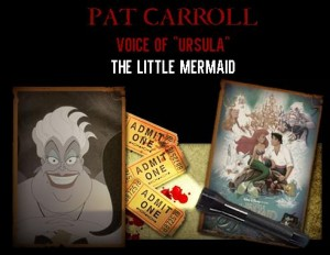 "Meet Pat Carroll, the Voice of Ursula from ""The Little Mermaid"" at Spooky Empire's May-Hem!"