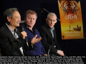 Ang Lee,  David Magee, Tim Squyres