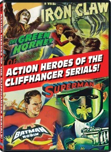 "DVD Review ""Action Heroes of the Cliffhanger Serials"""