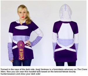 Ashley Eckstein Debuts New Star Wars™ by Her Universe Apparel at Disney's Star Wars Weekends 2013