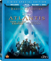 "Blu-ray Review ""Atlantis: The Lost Empire / Atlantis: Milo's Return"""