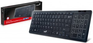 "Product Review ""Genius SlimStar T8020 Wireless Multi-TouchPad Keyboard"""