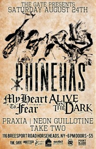 "Concert Review: ""IMatter Fest and The Gate Presents"" Phinehas, My Heart to Fear, Alive in the Dark, Praxia, Take Two"
