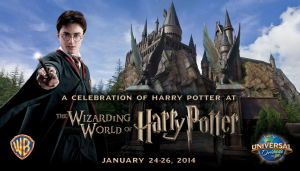 "Universal Orlando and Warner Bros. announce ""A Celebration of Harry Potter"" in January 2014"