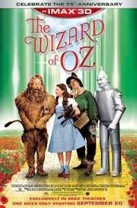 "Complimentary Passes to the Kansas City, MO Screening for ""The Wizard of Oz"" in IMAX 3D [ENDED]"