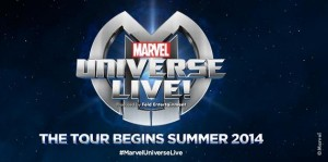 "Feld Entertainment and Marvel Entertainment Unveil Exclusive New Details on ""Marvel Universe Live!"""