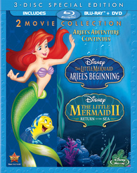 "Blu-ray Review ""The Little Mermaid: 2-Movie Collection"""
