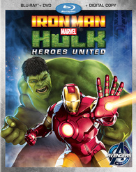 "Blu-ray Review ""Iron Man & Hulk: Heroes United"""