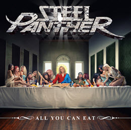 "Steel Panther New Album ""All You Can Eat"" Slated for Release April 1st on Open E Records via Kobalt Label Services"