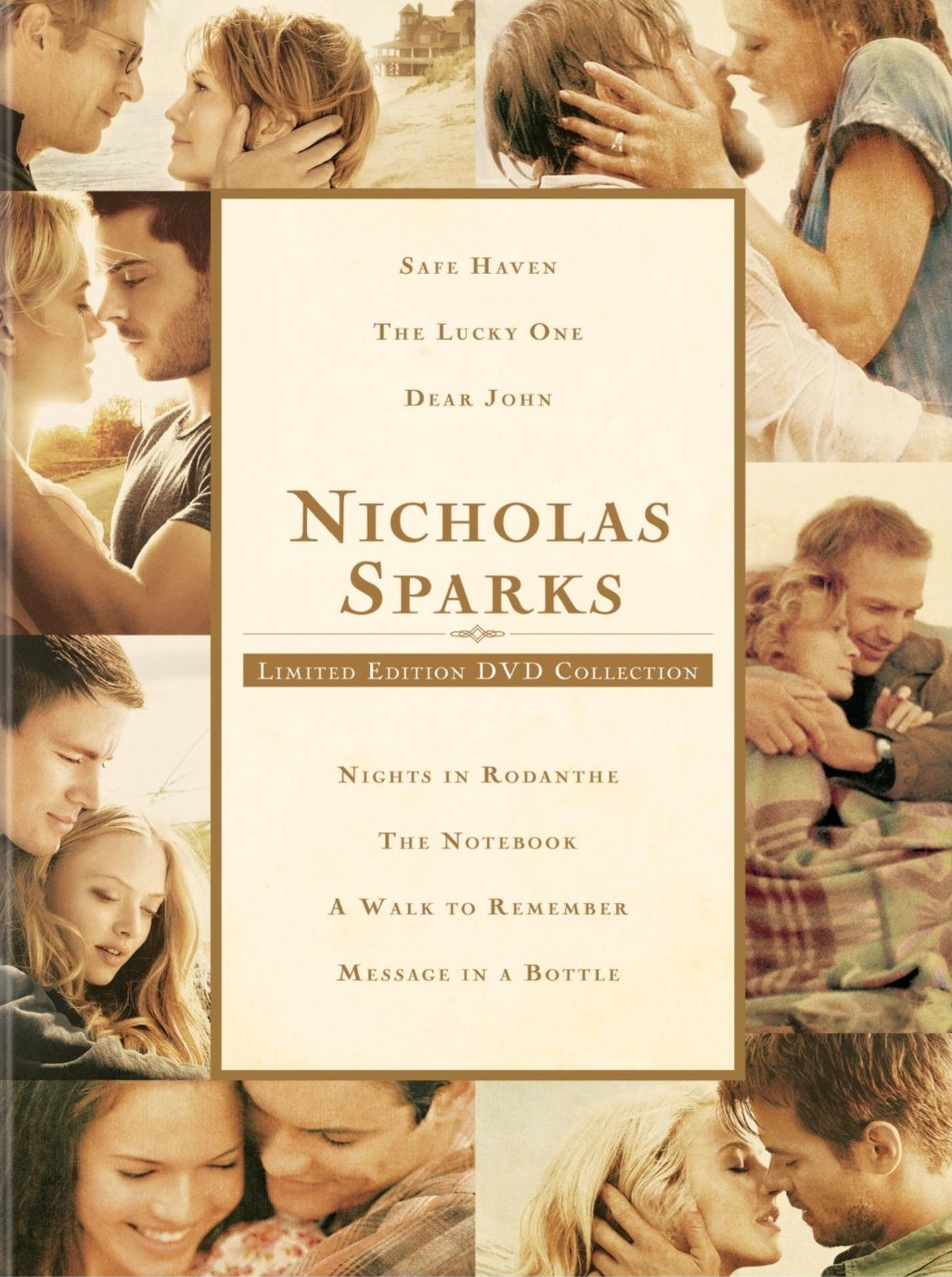 dvd review nicholas sparks limited edition collection