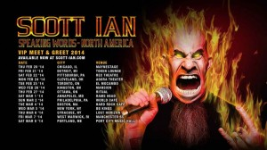 "Scott Ian, Legendary Anthrax Guitarist, Officially Announces ""Speaking Words"" Tour"