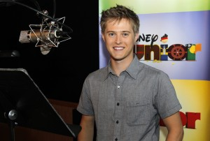 "Lucas Grabeel chats about voicing Deputy Peck in Disney Junior's ""Sheriff Callie's Wild West"""