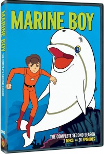 "DVD Review ""Marine Boy: The Complete Second Season"""