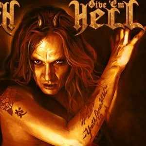 "CD Review: Sebastian Bach ""Give 'Em Hell"""