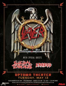 Concert Review: Slayer – Uptown Theater – Kansas City, Missouri