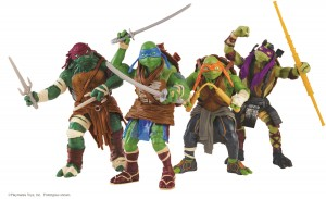 TMNT Movie Basic Figures Group Shot