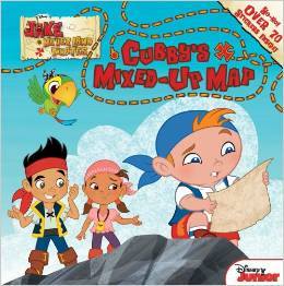 "Book Review ""Jake and the Never Land Pirates: Cubby's Mixed-Up Map"""