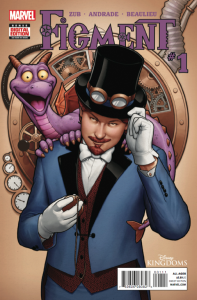 "Comic Book Review ""Disney Kingdoms: Figment #1"""