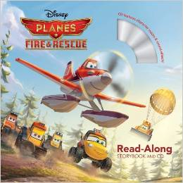"Book Review ""Planes: Fire & Rescue (Read-Along Storybook & CD​)"""