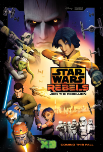 "The Heroes of ""Star Wars Rebels"" at San Diego Comic-Con!"