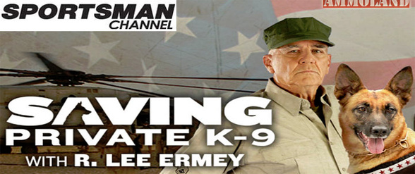 "R. Lee Ermey talks about new show ""Saving Private K-9"" on Sportsman Channel"