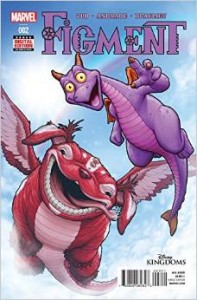 "Comic Book Review ""Disney Kingdoms: Figment #2″"