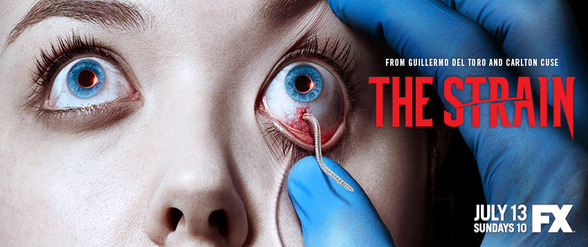"Guillermo del Toro and Carlton Cuse talk about new FX series ""The Strain"""