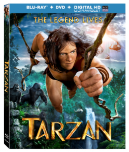 "Kellan Lutz Stars in The New Animated Adventure ""Tarzan"" Available Digital HD Available July 15"
