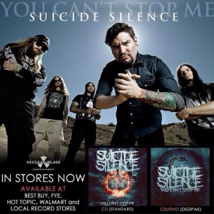 "Suicide Silence's Mark Heylmun talks about album ""You Can't Stop Me"" and Rockstar Energy Drink Mayhem Festival"
