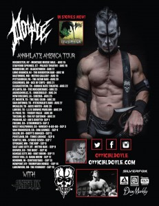 "Concert Review: Doyle ""Annihilate America Tour 2014"""