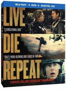 """Edge of Tomorrow"" Explodes onto Blu-ray 3D Combo Pack, Blu-ray Combo Pack, DVD and Digital HD on October 7"