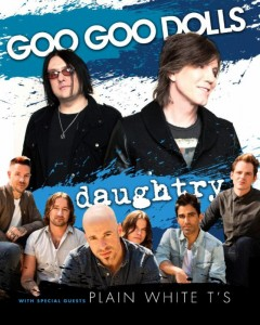 Concert Review: Goo Goo Dolls, Daughtry, Plain White T's – Tag's Summer Stage, Big Flats, NY